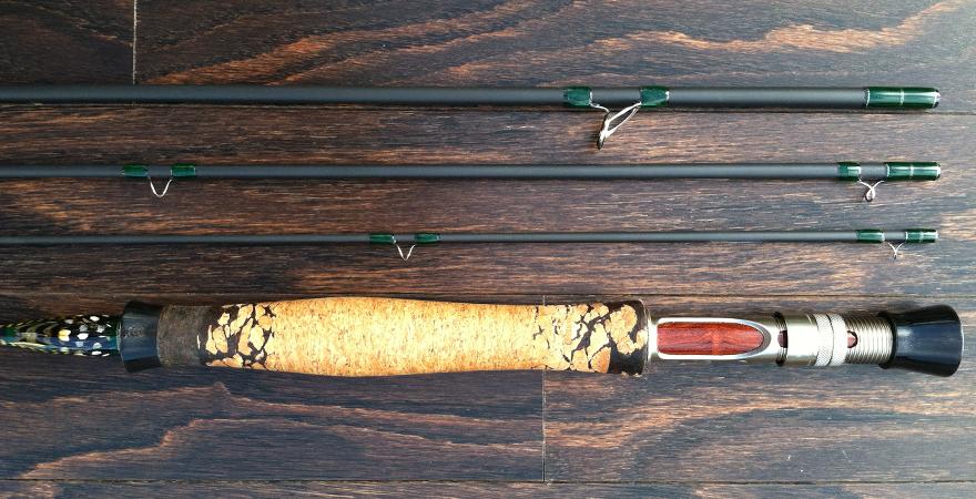 Mikes custom 9.0 5wt rod
